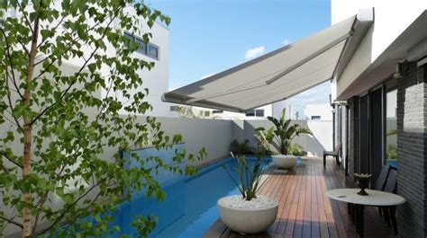 outdoor retractable awnings melbourne marchini