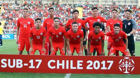 Calendario Mundial Sub 17 Calendario De Chile Sub 17 En El Hexagonal