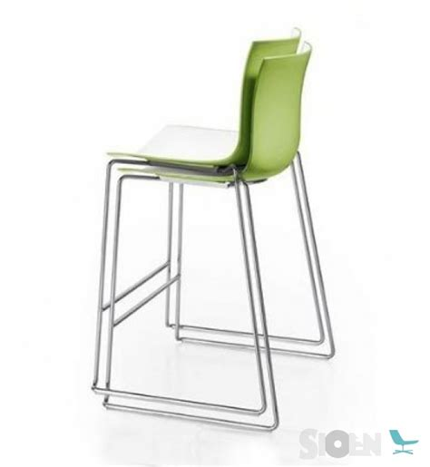 Catifa 46 Counter Stool by Arper Catifa 46 Counter Stool Sled Sioen Furniture