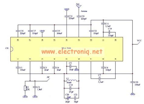 zn414 integrated circuit radio receiver integrated circuit 28 images tda7000 fm radio receiver electronic schematic