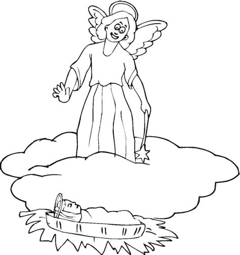 free coloring pages angel and mary free angel gabriel and mary coloring pages