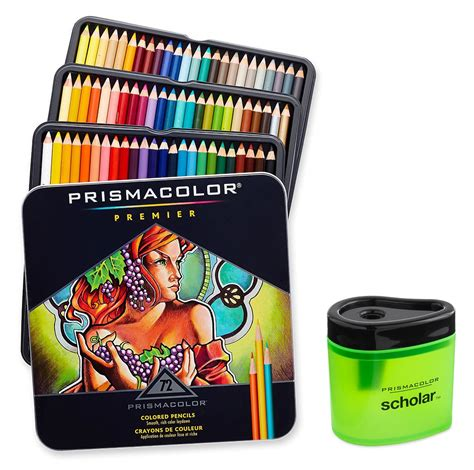 best color pencils prismacolor premier soft colored pencil set of 48