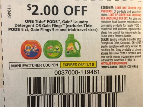 printable gain coupons gain detergent coupons newhairstylesformen2014 com
