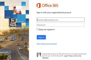 how to initially setting or changing your o365 password