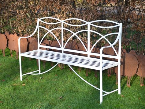 wrought iron garden bench a regency wrought iron garden bench architectural heritage