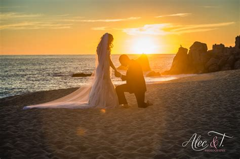 pueblo bonito sunset beach wedding venue alec and t