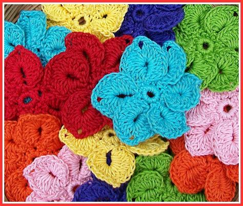 flower pattern crochet for beginners 10 simple crochet flower patterns