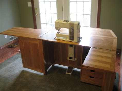 sewing table woodworking plans sewing machine cabinets with lift roselawnlutheran