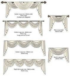 what is a curtain swag 1000 images about swags cascades and jabots on