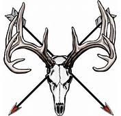 Deer Skull Logo Buck Head Design Car Tuning