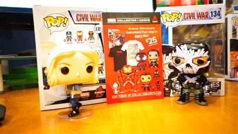 Funko Pop 13 Civil War 131 marvel funko pop crossbones and 13 figure unboxing captain america civil war