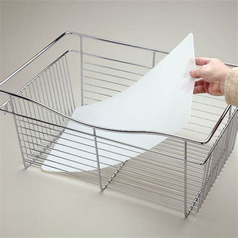 Rev A Shelf Baskets by Closet Basket Plastic Liners In Matt With Sizes
