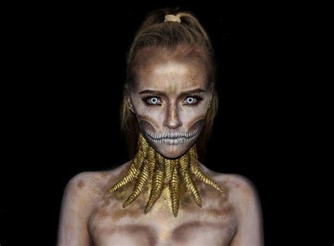 special effects makeup artist 16 years old special effects makeup artist loves turning