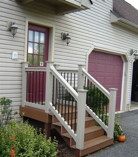 Back Porch Stairs Design Back Door Steps Ideas Ok So You Need More Than A Landing With A Set Of Steps This Is