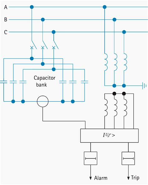 3 phase capacitor bank schematic 3 phase regulator