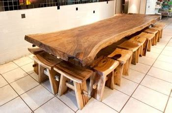 Meja Bar Trembesi Industrial suar dining table buy solid dining table product on