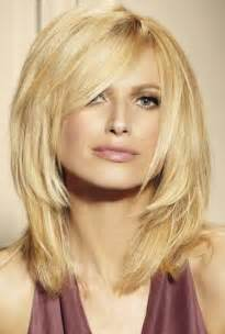 fashioned layered hairstyles medium layered hairstyles with bangs