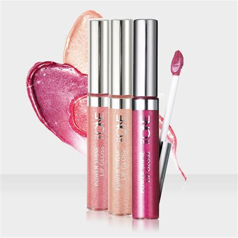 Lipgloss Oriflame the one power shine lipgloss by oriflame pink