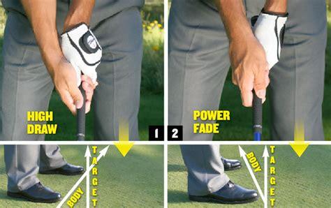 golf swing fade power shots golf tips magazine