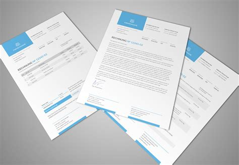 Corporate Design Vorlagen Indesign Rechnungsvorlage Rechnung Muster Rechnungsvorlage Word Psd Tutorials De Shop
