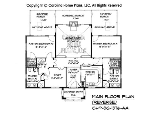 reverse floor plan small stone cottage house plan chp sg 1576 aa sq ft