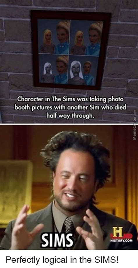 Sims Meme - sims logic meme pictures to pin on pinterest pinsdaddy