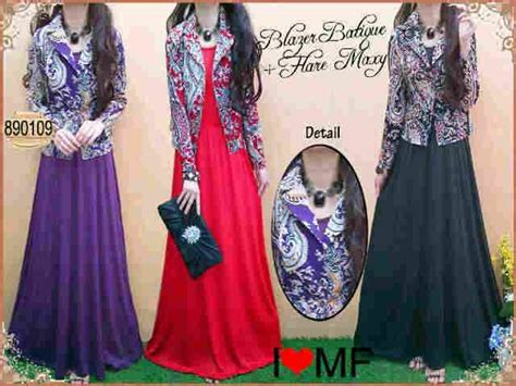 Maxy Salur Murah Trendy model baju gamis blazer newhairstylesformen2014