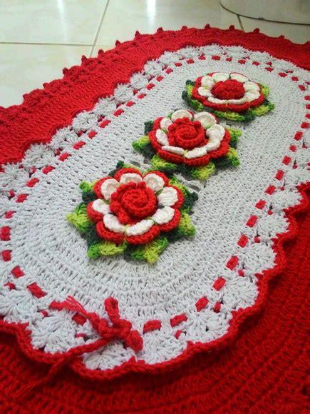 tapete de croche bico duplo elo7 pictures to pin on pinterest tapete em croch 234 flor isadora bico duplo ateli 234 silvia