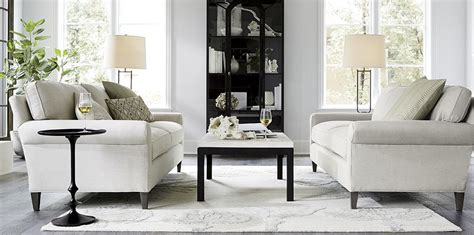 crate and barrel living room classic neutral living room montclair crate and barrel