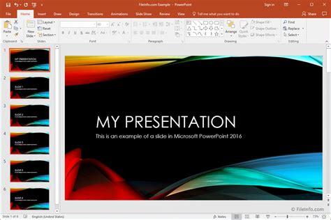 Microsoft Powerpoint microsoft powerpoint 2016 overview