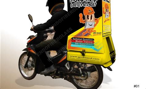 Tong Sah Fiberglass endo fiberglasss jual box motor delivery type grc jual box