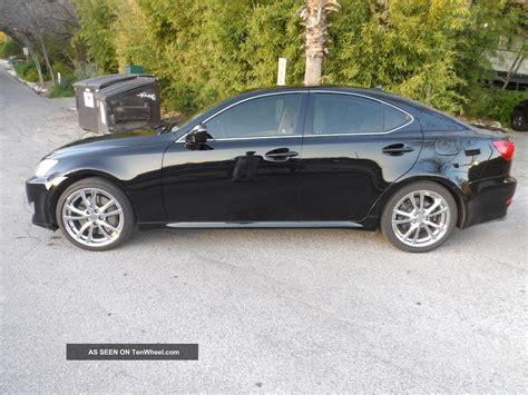 black lexus 2007 2007 lexus is350 sedan black premium wheels w premium