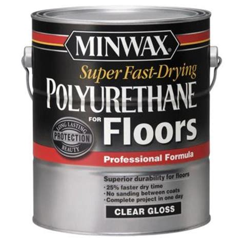 minwax fast drying 1 gal polyurethane for floors