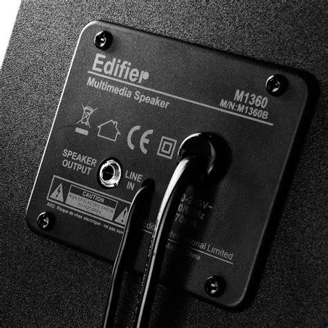 Edifier M1360 8 5w Rms edifier m1360 2 1 system 8 5w rms schwarz 2 1 systeme