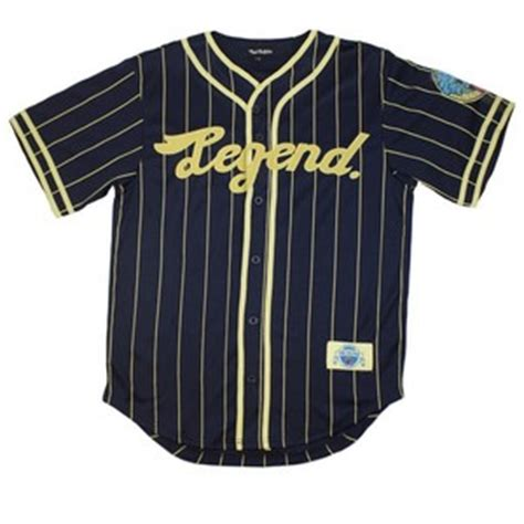 legend clothing pink dolphin clothing legend baseball jersey navy white s