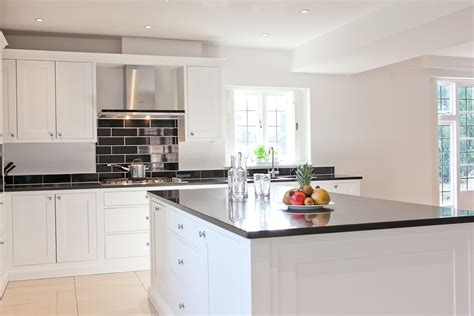 black white kitchen tiles timeless black white kitchen bespoke handmade wood