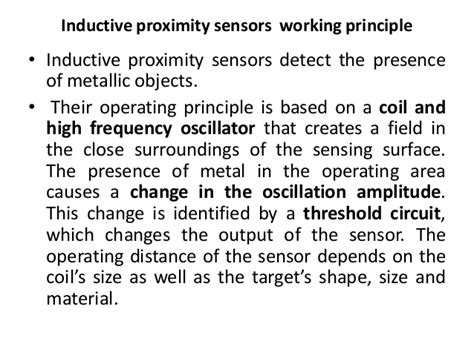 what is the working principle of inductor working principle of an inductor 28 images inductive proximity switch w sensor transformer