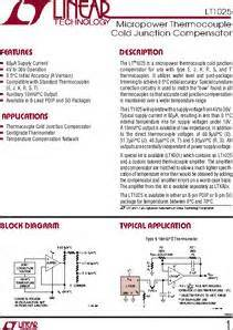ltec capacitor datasheet lt1025cs8 datasheet micropower thermocouple cold junction compensator