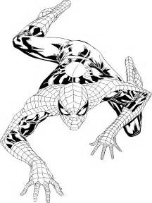 free spiderman symbol coloring pages