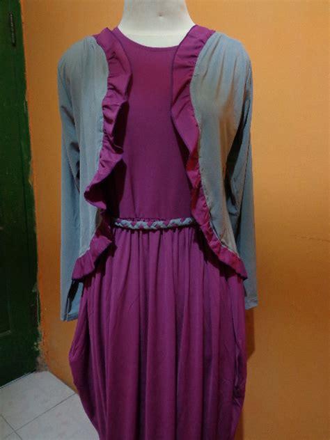 Dress Rajut Anggun baju gamis batik grosir nemo