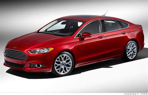 ford unveils new fusion plug in sedan jan. 9, 2012