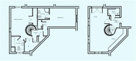spiral staircase floor plan the gulland 4 ocean blue cornwall