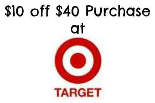 target 40 off coupon snopes