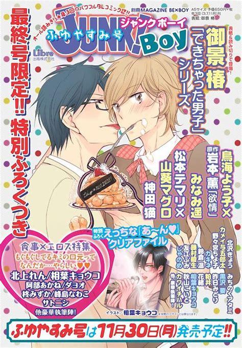 junk boys la revista yaoi junk boy finalizar 225 su publicaci 243 n el 30