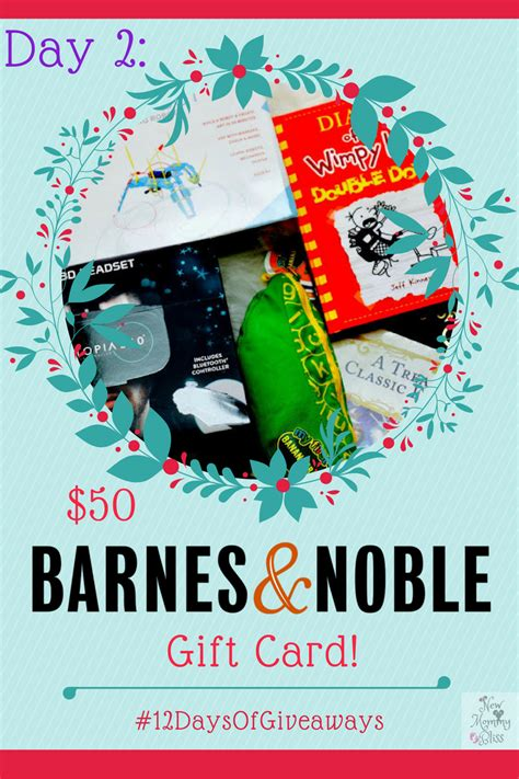 Can I Use Barnes And Noble Gift Card At Starbucks - day 2 50 barnes noble gift card 12daysofgiveaways new mommy bliss