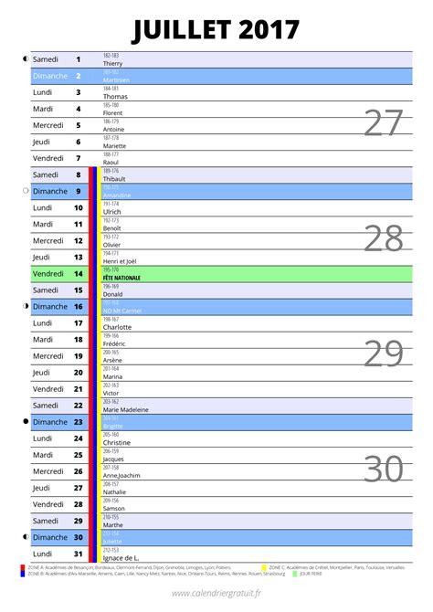 calendrier 2017 imprimer gratuit en pdf et excel news