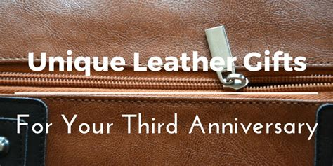 leather anniversary gifts ideas