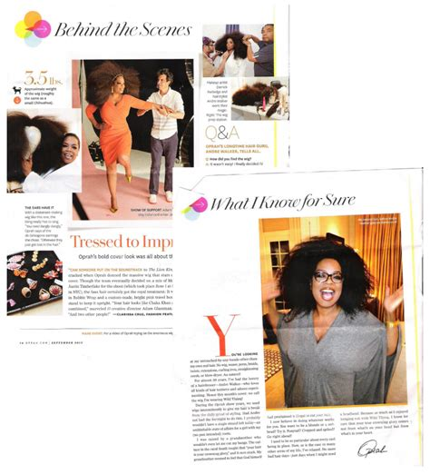 oprah s natural hair on o magazine september 2012 andre walker pictures news information from the web