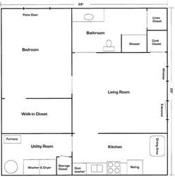 Basement Layout Planner Basement Floor Plan Flip Flop Stairs And Furnace Room