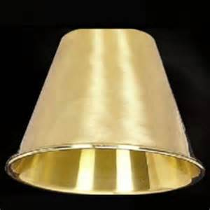 Chandelier Plastic Candle Covers 5 3 8 Quot Solid Brass Metal Clip On Lamp Shade 1253